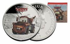 Niue -2017 - 1 OZ Silver Proof Coin- Disney Pixar Cars - Tow Mater