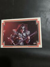 1978 Donruss Kiss Series 3 Trading Card Eric Carr #36 Exc