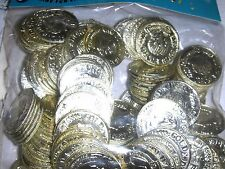 48  Pirate Gold Coins Birthday Party Carnival Prize Favors