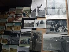 25 x vintage photos of Henry Cotton, golf, golfing, some are signed