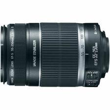Canon EF-S 55-250/4-5.6 IS Telephoto Zoom Lens NEW
