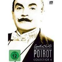 AGATHA CHRISTIE: POIROT-COLLECTION 4 3 DVD NEU