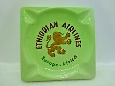 Vintage Ethiopian Europe Africa Airlines Ashtray