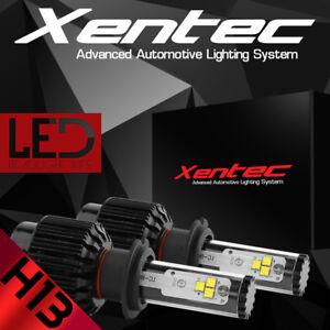 XENTEC LED HID Headlight kit H13 9008 White 2006-2011 Mercury Grand Marquis