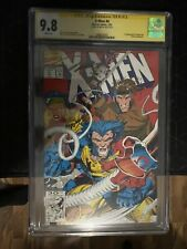 X-Men #4 cgc 9.8 1st apperance of Omega Red Signed by Jim Lee