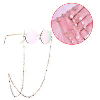 Pearl Eye Glasses Sunglasses Spectacles Chain Holder Lanyard Necklace Reading LY