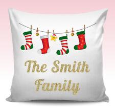 Christmas Personalised Decorative Cushions