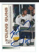 Damian Surma Signed 2000/01 Upper Deck Young Guns Rookie Card #439