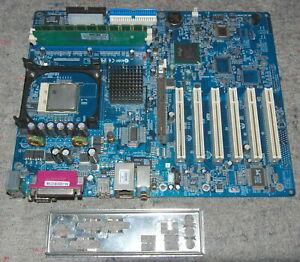 SHUTTLE AB49N v1.0a Socket 478 ATX DDR AGP MB+CPU+RAM+I/O SHIELD FULL WORK