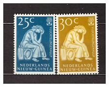 NETHERLANDS NEW GUINEA 1960 MNH World Refugees Year 2v 37210