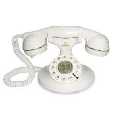 TELEFONO FISSO CON FILO BRONDI VINTAGE 10 BIANCO    NUOVO GARANZIA ITALIANA