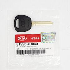 819964D040 Uncut Blank Immobilizer Key For Kia Sedona Carnival 2006-2012