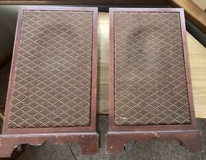 DYNATRON LS 4618 PW RARE VINTAGE SPEAKERS-WORKING CONDITION