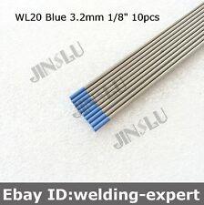 "Sky Blue WL20 Tungsten Electrode 3.2mm X 150mm 1/8"" X 6""  TIG Electrode 10PK"