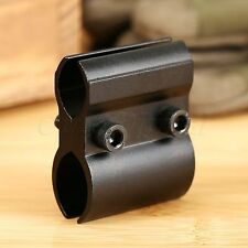 Dual Barrel Ring Scope Mount Holder for Flashlight Torch Laser Sight Adjustable