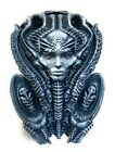 H.R Giger Inspired Alien Mother Wall Statue Figure Airbrush Painted Space Gray