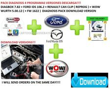 DIAGNOSTIC PACK  SALE FORD IDS+RENAULT CAN CLIP+WOW WURTH+DIAGBOX DOWNLOAD!!!!