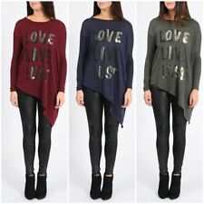 Polyester Long Sleeve Stretch Tops & Shirts for Women