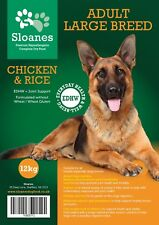 Sloanes Large Adult - Premium Hypoallergenic Dry Dog Food - 12kg *FREE DELIVERY*