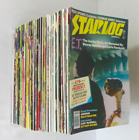 Lot x78 1981-1996 STARLOG Magazines #53-222 STAR TREK WARS BATMAN SUPERMAN TNG