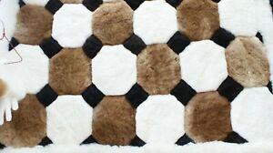 Alpaca fur rug