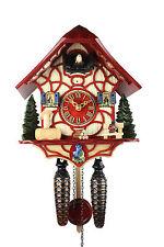 Adolf Herr Quartz Cuckoo Clock - Magic Red AH 33 QM NEW