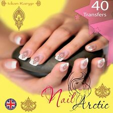 40 x Nail Art Water Transfers Stickers Wraps Decals Indian Asian Gr1