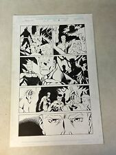 AVENGERS UNITED THEY STAND #6 original art CAPT AMERICA, ANTMAN, BLACK PANTHER