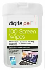 100 Multi Functional Screen Wet Wipes Laptop LCD TV Computer iPad Tablet Cleaner