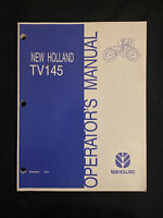 New Holland Operator's Manual TV145 Tractor *02008