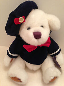 Brass Button TAYLOR Premier Collection Bear Of Happiness Plush Sailor Jointed 13