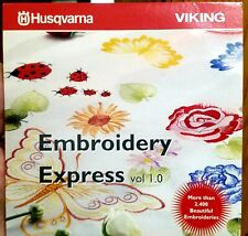 Husqvarna Viking Embroidery Express Software System Vol. 1.0 2400 Embroideries