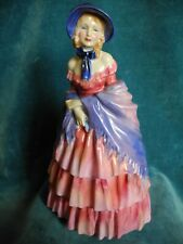 Royal Doulton Victorian Lady (early unnumbered Hn 728) English figurine antique