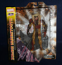 """Marvel Select ZOMBIE SABRETOOTH 7"""" Action Figure Diamond Select Toys DST X-Men"""