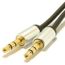 2 M 3.5 mm Spina Jack AUX Cavo Piombo Audio Per Per Cuffie/MP3/Pads/2 M oro per auto