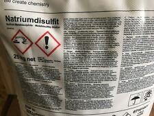 METABISULFITE DE SOUDE ,SODIUM DISULFITE 500 grammes