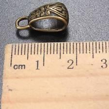 20Pcs Silver Bronze Tibetan Charm Pendant Bail Connector Bead Fit Bracelet gd