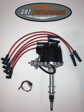 Jeep AMC GM HEI Distributor + Wires CJ5 CJ7 YJ 258 4.2 (1) WIRE HOOKUP BLACK/RED