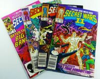 MARVEL SUPER HEROES: SECRET WARS (1985) #12 + II #2-3 7 Lot Ships FREE!