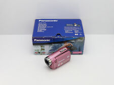 PANASONIC SDR-S15 CAMCORDER BOXED SD / SDHC CARD DIGITAL VIDEO CAMERA