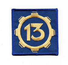 "Fallout Video Game Vault 13 Logo Embroidered 3"" Patch"