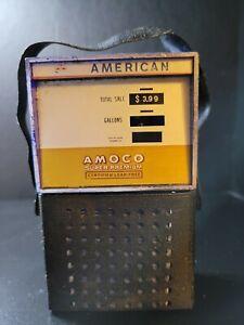 Vintage  Amoco American Standard Oil Transistor AM Radio Gas Pump