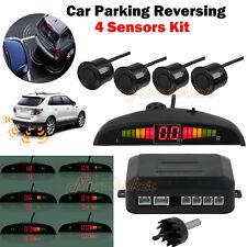 Parking Sensor Buzzer Alarm System Car Rear Reversing Screen 4 Led Displayer AU