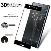 Anti-Fingerprint Tempered Glass Screen Protector For Sony Xperia X XP XZ XZ1 XZ2