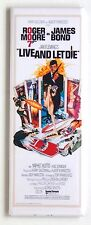 Live and Let Die FRIDGE MAGNET (1.5 x 4.5 inches) insert movie poster james bond