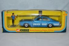 Corgi Toys 416 Buick Century Police Polizei Perfect Mint in box Superb