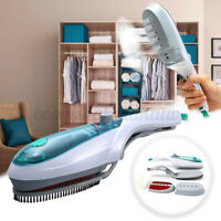 Portable Home Handheld Electric Fabric Steam Brush Iron Laundry Clothes Steamer