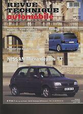 (8A)REVUE TECHNIQUE AUTOMOBILE NISSAN MICRA / PEUGEOT 605 DIESEL
