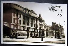 ARGENTINA~1930's BUENOS AIRES ~ Estacion Retiro F.C.C.A.~RAILROAD STATION ~ RPPC