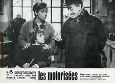 TOTO LES MOTORISEES LE MOTORIZZATE 1963 VINTAGE PHOTO LOBBY CARD N°3